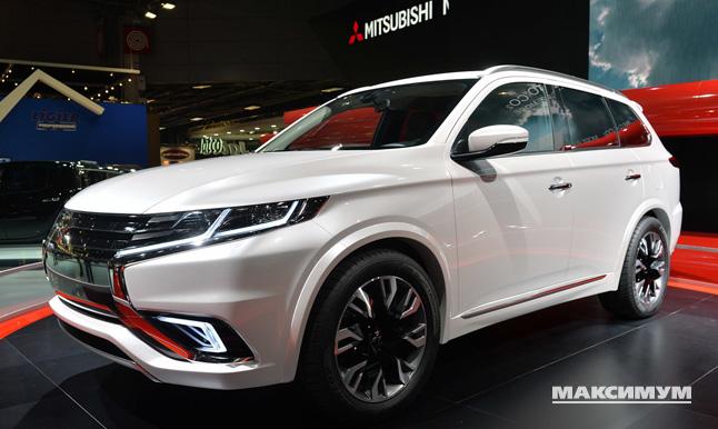 mitsubishi outlander phev concept-s 2015 двигатель 2,4